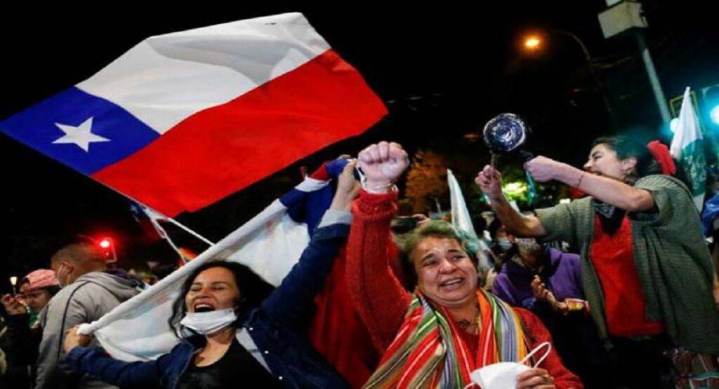 "Triunfo del ""Apruebo"" en Chile"